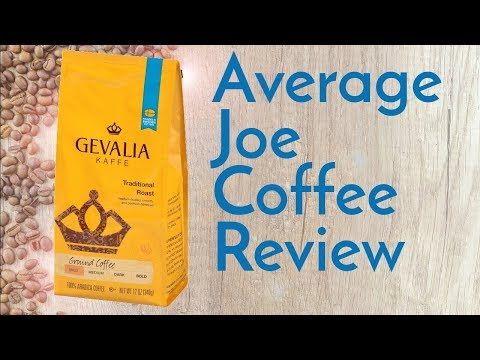 Gevalia Traditional Coffee Review