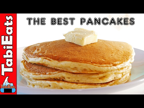 HOW TO MAKE THE BEST PANCAKES (Easy Recipe)