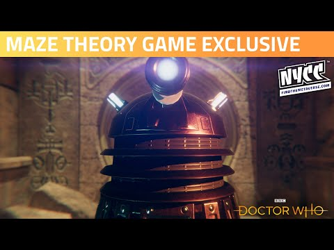 BBC Studios | Doctor Who Maze Theory Game Exclusive