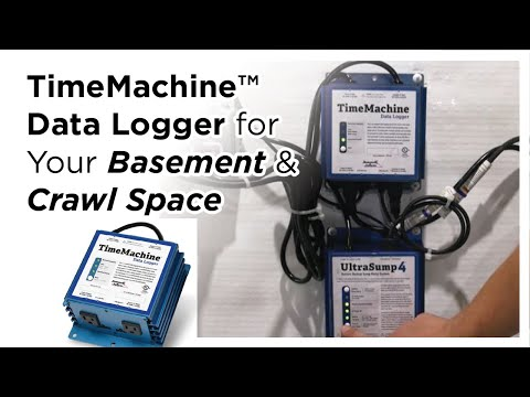TimeMachine™ Data Logger for Basements & Crawl Spaces