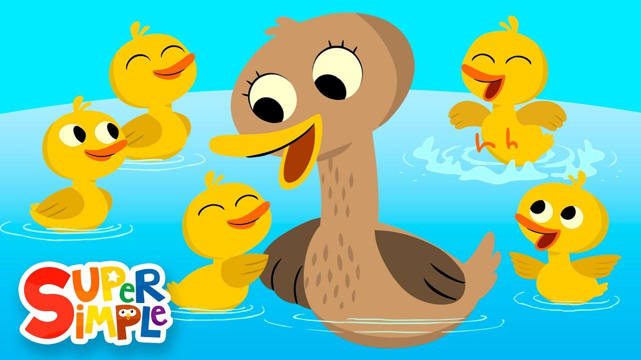 01 Five Little Ducks