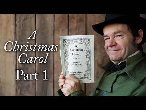 A Christmas Carol Book Read Part 1 – Marley's Ghost