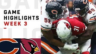 Bears vs. Cardinals Week 3 Highlights | NFL 2018 | Kholo.pk