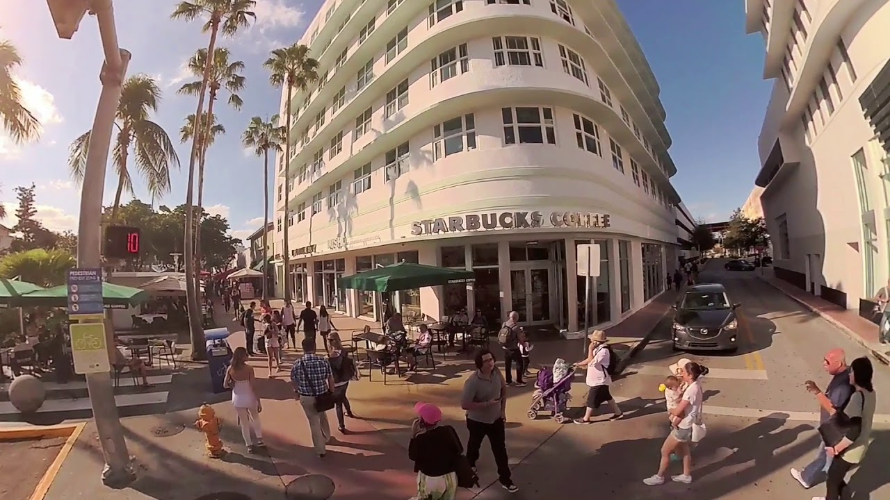 Go shopping at Lincoln Road Mall