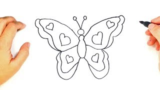 How To Draw A Beautiful Butterfly For Kids Videos
