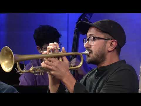 With Arturo O'Farrill and the Latin Jazz Ensemble at The Greene Space in New York City