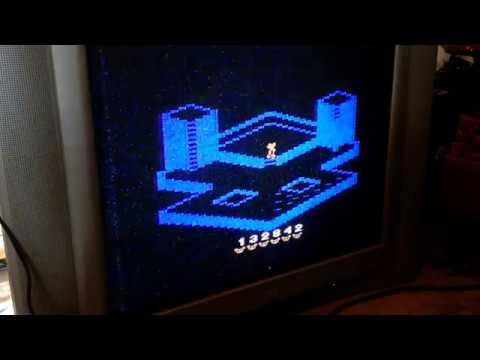 Atari 2600 / VCS - Crystal Castles - NTSC - Game 1