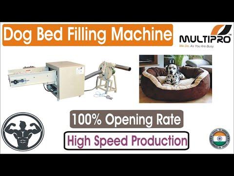 Multipro Dog Bed Filling Machine / Dog Bed Stuffing Machine / Pet Bed Making Machine