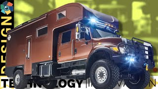 10 Rugged Expedition Vehicles and Off-Road Camper Vans