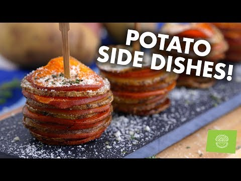 DELICIOUS Holiday Potato & Sweet Potato Side Dish Healthy Recipes!