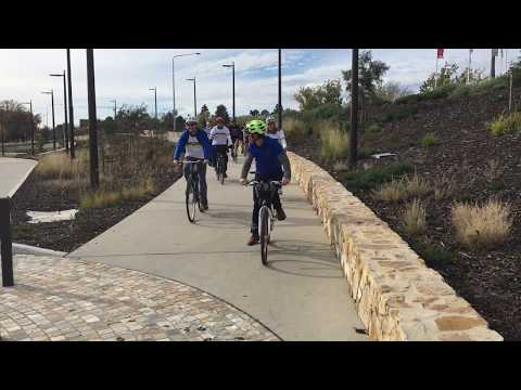 Velomai cycling challenge, Canberra