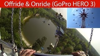 preview picture of video 'Holiday Park - Lighthouse Tower - Offride & Onride 2014 (GoPro HERO 3)'