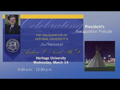 President's Inauguration Prelude