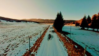 Fast Cinematic Freestyle FPV Drone Footages with Calm & Relaxing Music