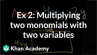 Multiplying and Dividing  Monomials 1