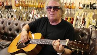 Don McLean American Pie Playing A 1954 Martin 0021 At Normans Rare Guitars