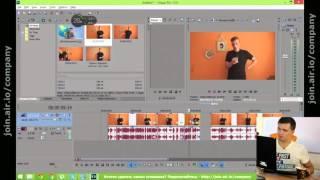 Урок Sony Vegas Pro (Сони Вегас Про). Обучение видеомонтажу - для начинающего видеоблогера