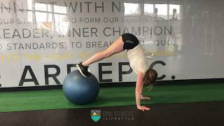 EPIC Functional Workout: Stability Ball Core