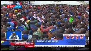 NASA waisuta Serikali ya Jubilee kwa kutowajibika kwenye mkutano wao uliofanfika Nakuru