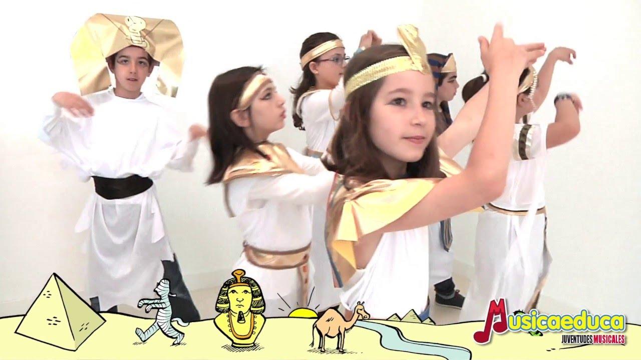 La canción del faraón - Mi teclado 4 - EM Musicaeduca Juventudes Musicales de Alcalá de Henares