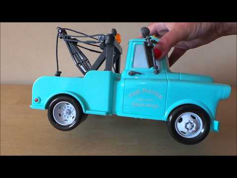 Disney Pixar Cars 2 Gear Up & Go Tow Mater Toy Review By MGTRACEY
