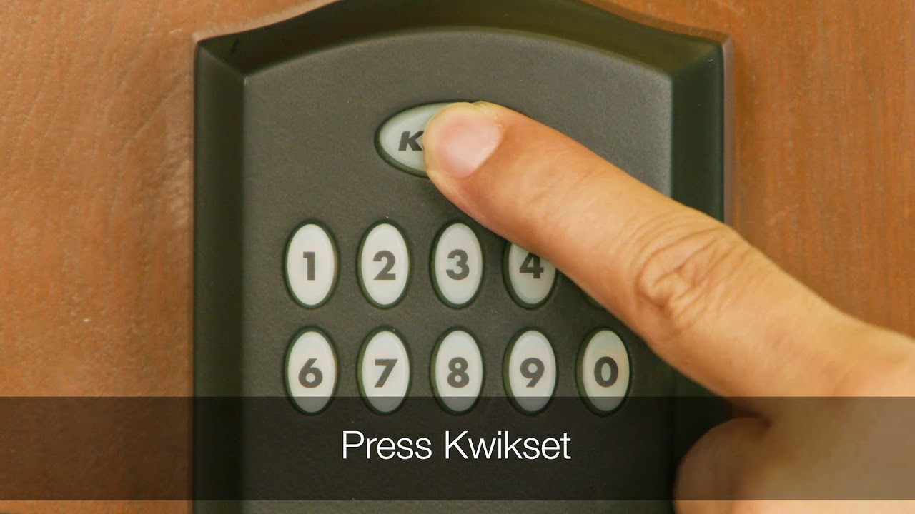 Adding a User Code to the Kwikset Smartcode 955