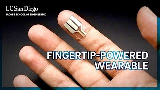 Newswise:Video Embedded calling-all-couch-potatoes-this-finger-wrap-can-let-you-power-electronics-while-you-sleep
