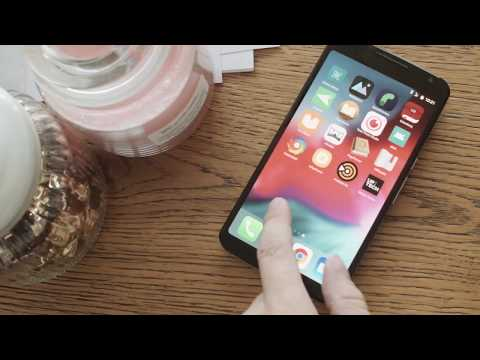Vídeo do iOS 12 Launcher