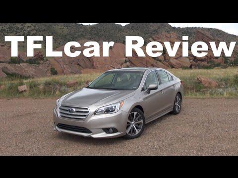 2015 Subaru Legacy Review: An AWD Boxer Sedan for the Family