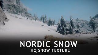SKYRIM SE ULTRA GRAPHICS MODS   Nordic Snow aka HQ Snow Texture