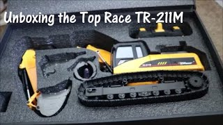 Unboxing the Top Race TR211M RC Excavator