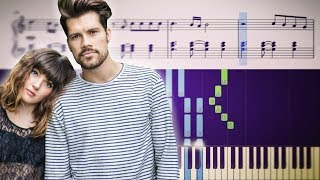 Oh Wonder   All We Do (Piano Tutorial) + SHEETS