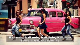 Enrique Iglesias - Bailando (Dance collection w/ English Spanish lyrics)