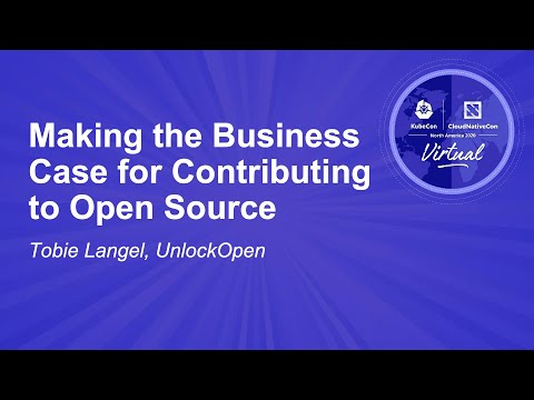 Image thumbnail for talk Making the Business Case for Contributing to Open Source