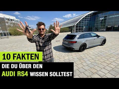 10 Fakten❗️die DU über DAS 2020 Audi RS 4 Avant Facelift wissen solltest! Fahrbericht | Review |Test
