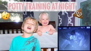 🚽 NIGHTTIME POTTY TRAINING 😴 | How to Potty Train Your Toddler at Night | Tips and Tricks