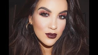 Vampy Fall Look | New Makeup -- Nicole Guerriero