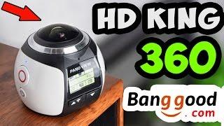 КАМЕРА HD King 360 для ПАНОРАМНОЙ СЪЕМКИ ► ПОСЫЛКА с Banggod #25
