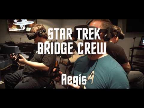 Star Trek: Bridge Crew Full Aegis Mission Gameplay (Red Storm / Ubisoft) – Rift, Vive, PSVR