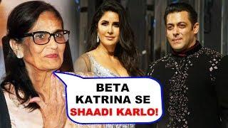 Salman Khan's Mother Wants Him To Marry Katrina Kaif