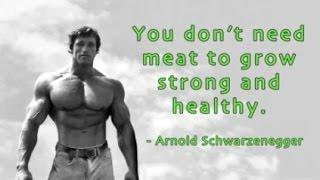 Arnold Schwarzenegger Says Go Vegan For the Environment