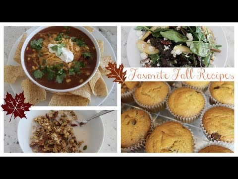 Favorite Fall Recipes | Cook with Me