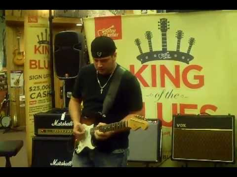 TK  Blues guitar solo