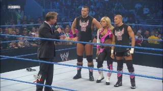 Chris Jericho, The Hart Dynasty and DX ring in Christmas