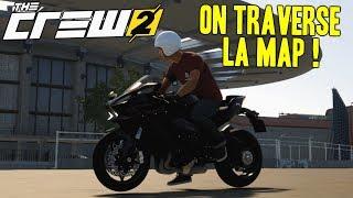 THE CREW 2 GAMEPLAY FR : De New York a San Francisco en Kawasaki Ninja H2