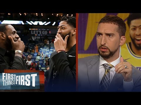 Lakers 'have the best duo' after Anthony Davis trade - Nick Wright   NBA   FIRST THINGS FIRST