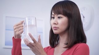 What causes tap water to appear milky?