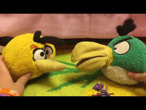 Download The Angry Birds Movie Hal And Bubbles Video 3GP Mp4 FLV HD
