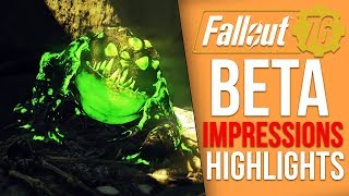 Fallout 76 BETA Highlights - Glitches, Finding the Brotherhood of Steel, The Cranberry Bog