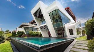 Красивые дома особняки лучшие дизайнерские работы